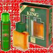 King подарочный набор мужской (т/в100+део150)