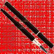 Карандаш Ffleur №412 для бровей с щеточкой 0,5гр.