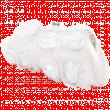 Клатч №8872-1 розочки белые
