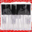 Блеск для губ Farres №7018 прозрачный Crystal Gel Gloss прозрачный 8мл (сборка 6 шт.)