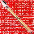 Карандаш Ffleur №7616 для бровей с щеточкой (6шт)