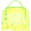 Косметичка банная №8531 лимонная прозрачная