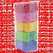 Пемза косметическая с щеткой (упаковка 10шт.)