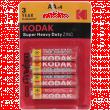 Батарейка Kodak Super Heavy Duty AA 1.5V солевая 4шт