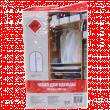 Чехол для одежды Home Queen №53342 с молнией (60х100см)