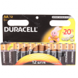 Батарейка Duracell AA 1.5V щелочная 12шт