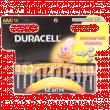 Батарейка Duracell AAA 1.5V щелочная 12шт