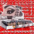 Тени для бровей DoDo Girl №В001 Eyebrow Powder 3-х цветные (сборка 3шт.)