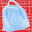Косметичка банная №012 прозрачная полоска
