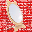 Зеркало настольное круглое одностороннее 2шт