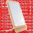 Зеркало настольное прямоугольное одностороннее 2шт