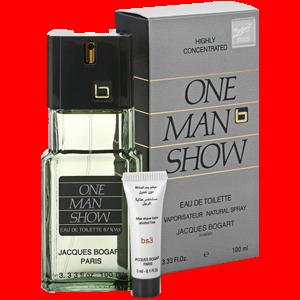 Bogart One Man Show Jacques (т/в муж. 100мл + крем муж.)